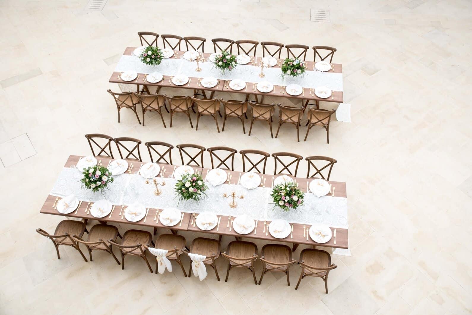 tavoli imperiali matrimonio in sicilia