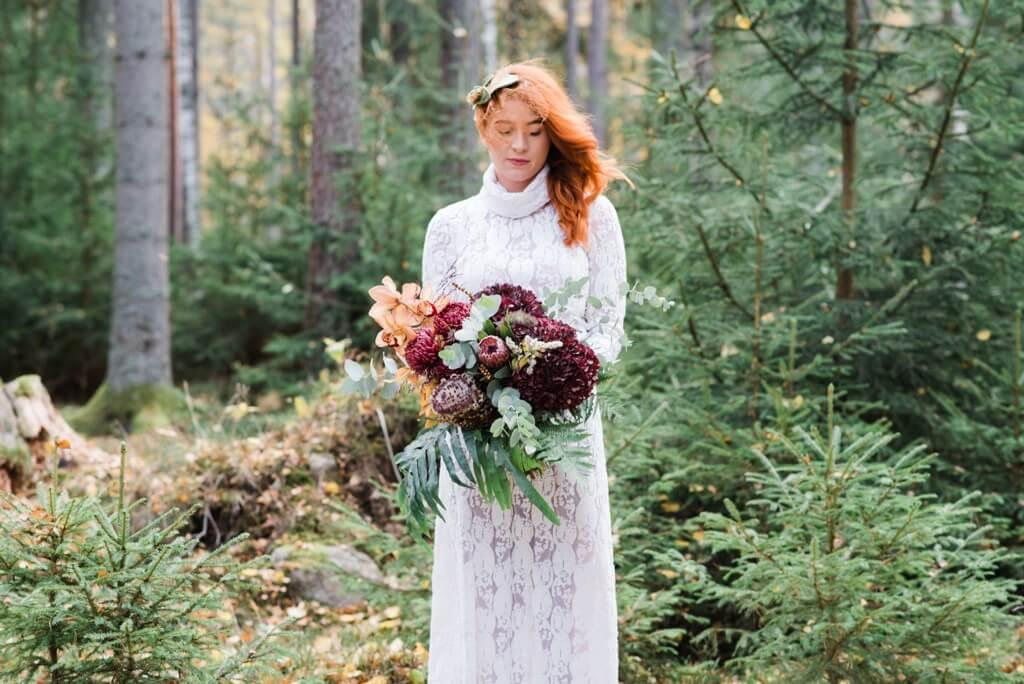 Winter Wedding -Bride