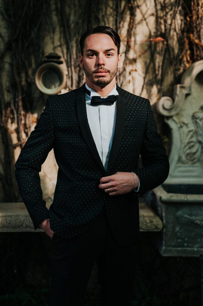 groom-in-a-tuxedo